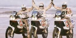 Parigi Dakar 1990 Marzocchi Motor uai